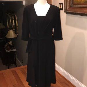 R&M Richards Black Dress
